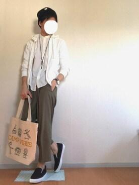 竜太郎さんの(ROOTOTE|ルートート)を使ったコーディネート