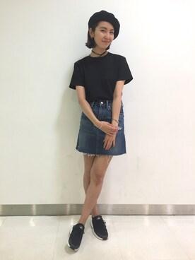 X-girl 原宿|中村 えりさんの(X-girl|エックスガール)を使ったコーディネート