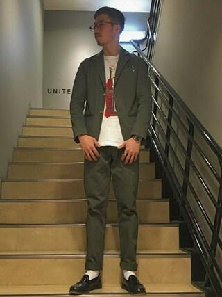 ユナイテッドアローズ 札幌店|Satoru Tsushimaさんの(NIGOLD|ニゴールド)を使ったコーディネート
