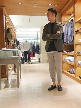 ユナイテッドアローズ 札幌店|Satoru Tsushimaさんの(JAMES PERSE|ジェームスパース)を使ったコーディネート