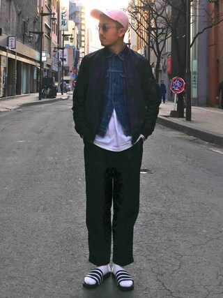ユナイテッドアローズ 札幌店|Satoru Tsushimaさんの(District UNITED ARROWS|ディストリクト ユナイテッドアローズ)を使ったコーディネート