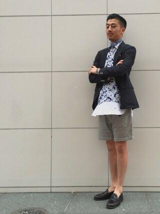 ユナイテッドアローズ 札幌店|Satoru Tsushimaさんの(Scye|サイ)を使ったコーディネート