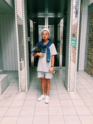 ユナイテッドアローズ 札幌店|Satoru Tsushimaさんの「adidas(アディダス) MASTER UA & SONS ◆(adidas|アディダス)」を使ったコーディネート