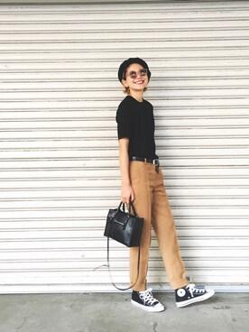 LIFE's代官山店|橋本江莉果さんの「ポケットラグランTシャツ(TODAYFUL)」を使ったコーディネート