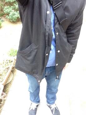neo@kiさんの「PHINGERIN COACH JACKET MICRO SUEDE SP 【Revelations/別注】(PHINGERIN|フィンガリン)」を使ったコーディネート