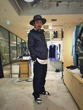 Revelations/|tado_billさんの「post amenities Too Easy Pants(post amenities|レベレーションズ)」を使ったコーディネート