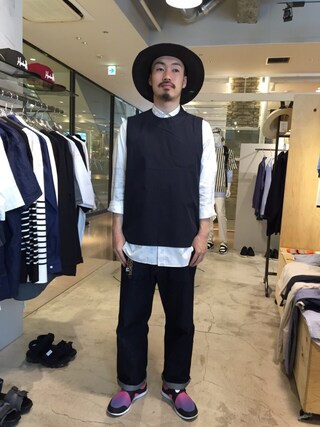 Revelations/|tado_billさんの「Name. FINX BANDANA LONG SHIRT(Name.|ネーム)」を使ったコーディネート