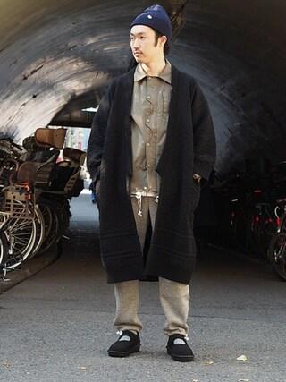 Revelations/|tado_billさんの「YASHIKI Sanpaku Coat(Revelations/|レベレーションズ)」を使ったコーディネート