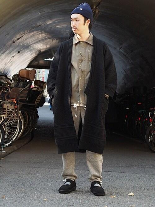 tado_billさんの「YASHIKI Sanpaku Coat(Revelations/)」を使ったコーディネート