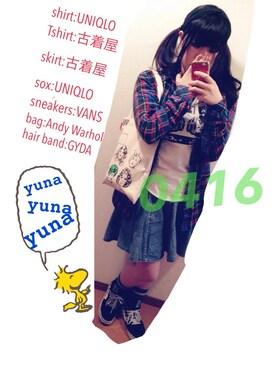 yunaさんの(GYDA|ジェイダ)を使ったコーディネート