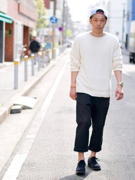 BACKWARD Online Store|BACKWARDさんの(BACKWARD)を使ったコーディネート