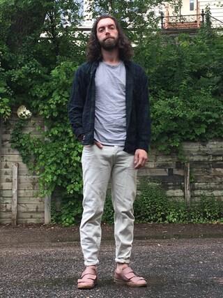 「A.P.C. Petit Standard Denim Jeans(A.P.C.)」 using this Kyle looks