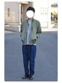 「Polo Ralph Lauren Cotton-Jersey T-Shirt(Polo Ralph Lauren)」 using this しゅう looks