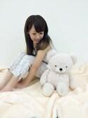 Cocoonist_Official(Yumi Ueno)さんの「QF05 ロングパンツ(Cocoonist|コクーニスト)」を使ったコーディネート