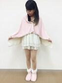 Cocoonist_Official(Yumi Ueno)さんの「QE82 コンパクトブランケット(Cocoonist|コクーニスト)」を使ったコーディネート