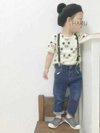 HARU.さんの(Mini Rodini ミニロディーニ)を使ったコーディネート
