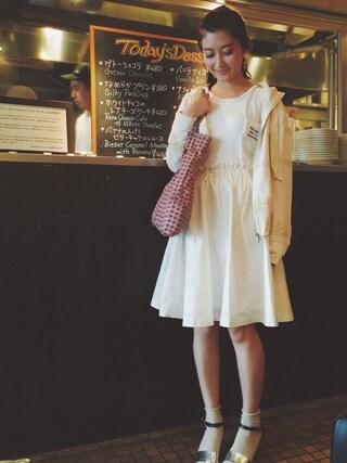 CurtainCall OnlineShop|酒井 景都さんの(LAYMEE|レイミー)を使ったコーディネート
