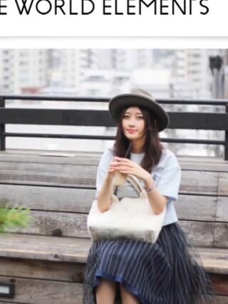 CurtainCall OnlineShop|酒井 景都さんの「Marnier SK(LAYMEE|レイミー)」を使ったコーディネート
