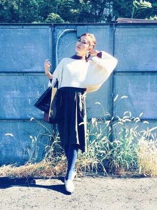 CurtainCall OnlineShop|酒井 景都さんの「3.1 Phillip Lim Embellished Layered Dress(3.1 Phillip Lim|スリーワン フィリップ リム)」を使ったコーディネート