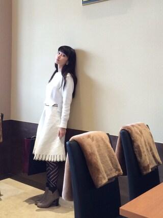 CurtainCall OnlineShop|酒井 景都さんの「コットンニット(DRESSTERIOR|ドレステリア)」を使ったコーディネート
