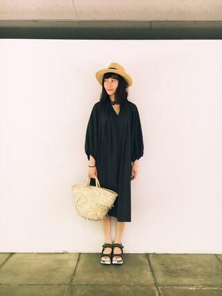CurtainCall OnlineShop|酒井 景都さんの(Mila Owen|ミラ オーウェン)を使ったコーディネート