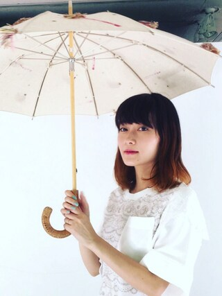 CurtainCall OnlineShop|酒井 景都さんの「lace-bigpocket-Pullover/white(Curtain Call|カーテンコール)」を使ったコーディネート