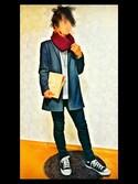 .Daikiさんの「【MATATABI】ペーパークラッチMEDIUM(MATATABI マタタビ)」を使ったコーディネート