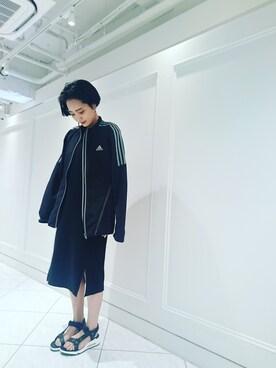 RANDA 福岡PARCO店|田中さん。さんの(adidas)を使ったコーディネート
