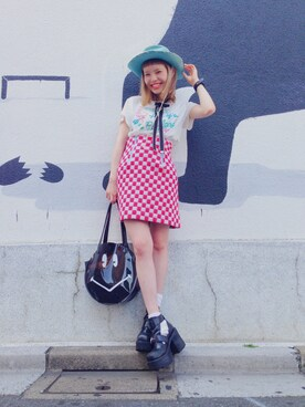 「SMILY プールバッグ(Aymmy in the batty girls)」 using this 瀬戸あゆみ looks