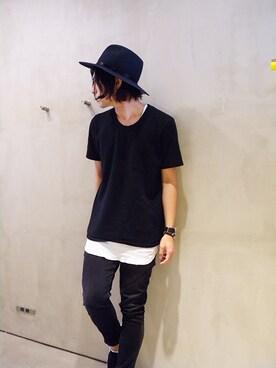 ONE AND ONLY 仙台店|Attic_suzukiさんの「LONG TANK TOP(VICTIM)」を使ったコーディネート