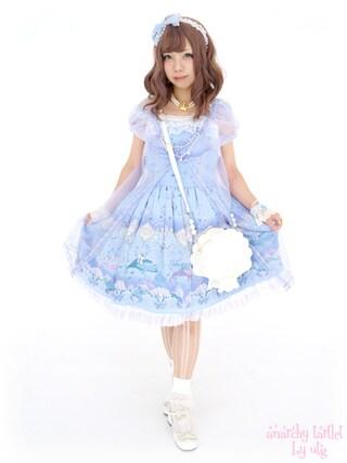 うつぎさんの「ワンピース(Angelic Pretty|Angelic Pretty)」を使ったコーディネート