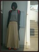 nikaさんの「サイドプリーツ スカーチョ◆(SLOBE IENA スローブイエナ)」を使ったコーディネート