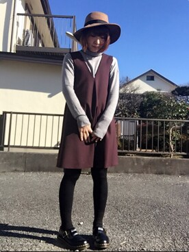 「DR. MARTENS Moccasins(Dr. Martens)」 using this yuyu looks