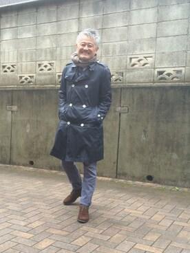 田中 正さんの(Traditional Weatherwear|トラディショナルウェザーウェア)を使ったコーディネート