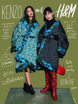 中田クルミさんの「H&M studio 2016(H&M|ヘンネスアンドモーリッツ)」を使ったコーディネート