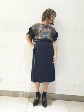 MIDWEST OSAKA LUCUA|saki enomotoさんの(muller of yoshiokubo|ミュラー オブ ヨシオクボ)を使ったコーディネート