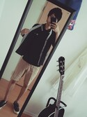 「Fred Perry Knitted Polo Shirt with Tipping(Fred Perry)」 using this Koh looks