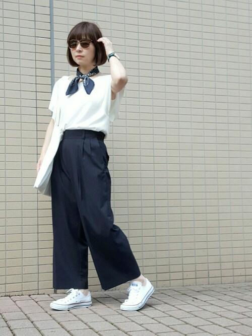 *kumiko*さんの(IENA ノベルティ👜)を使ったコーディネート