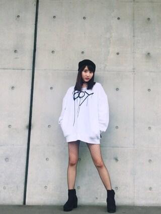 林萌々香さんの(BOY LONDON|ボーイロンドン)を使ったコーディネート