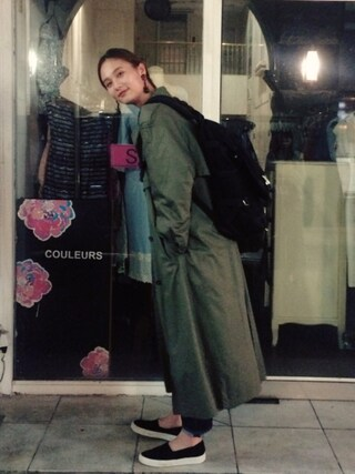 「KONA One wash DENIM(BLACK BY MOUSSY)」 using this 秦まり子 looks