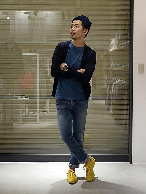 PATRICK LABO KOBE | MOTOI_MATSUHIROさんのスニーカー「PATRICK LB-LAVIA(ラボ・ラビア) / YLW」を使ったコーディネート