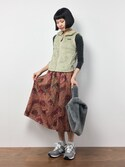 hinaさんの「Patagonia / Los Gatos Fleece Vest(BEAMS BOY|ビームスボーイ)」を使ったコーディネート