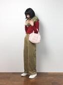 hinaさんの「DANCE BAG / SMALL GLIDE(repetto|レペット)」を使ったコーディネート