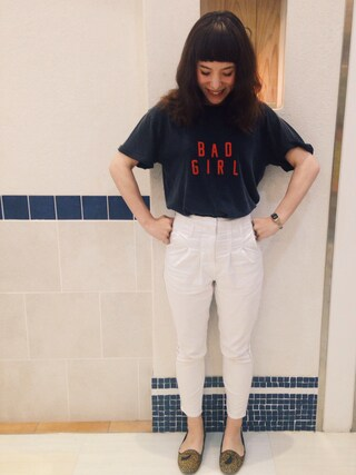 「G.G.B.G Tシャツ(Rodeo Crowns)」 using this emilykeiholden looks