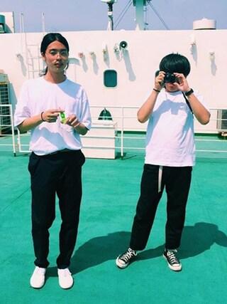 kariya kiyonoriさんの「CONVERSE コンバース ALL STAR HI オールスター ハイ(CONVERSE|コンバース)」を使ったコーディネート