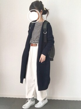 Chocorooさんの「【PLAIN CLOTHING】メタルサークルプレートヘアゴム(PLAIN CLOTHING)」を使ったコーディネート