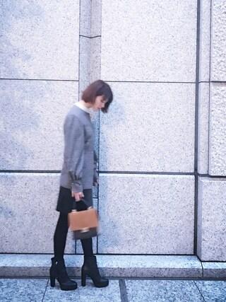 岡田ロビン翔子さんの(FENDI|フェンディ)を使ったコーディネート