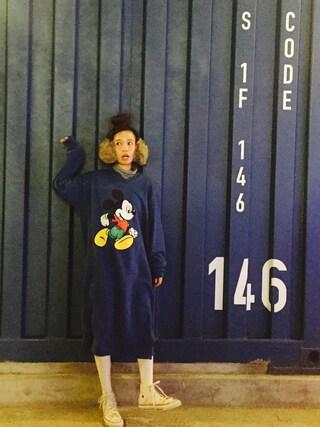 しばさきさんの(Lala(名古屋にある大須の古着屋さん))を使ったコーディネート