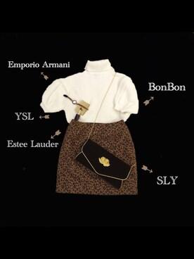 yopipiiさんの(E hyphen world gallery Bon Bon|イーハイフンワールドギャラリーボンボン)を使ったコーディネート