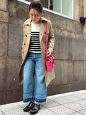 「Current/Elliott The Cropped Hampden Jeans(Current/Elliott)」 using this ARC imaoka looks